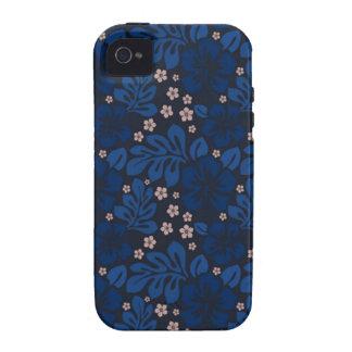 Blue Hawaiian Apple Iphone 4 CaseMate Tough Case-Mate iPhone 4 Cases