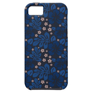 Blue Hawaiian Apple Iphone 5 CaseMate Tough iPhone 5 Cover