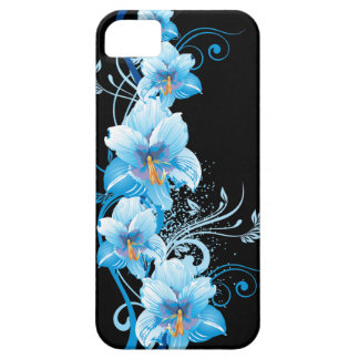 Blue Hawaiian Hibiscus iPhone 5 Covers