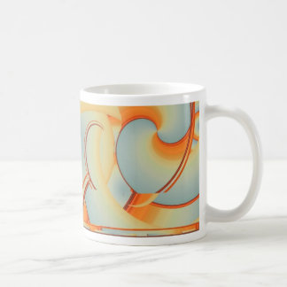 Blue Haze Basic White Mug