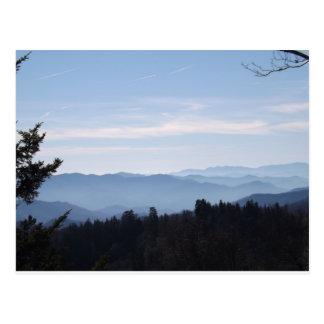 Blue Haze Smoky Mountains Post Card