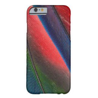 Blue-headed Pionus feathers Barely There iPhone 6 Case