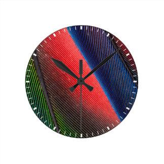 Blue-headed Pionus feathers Clocks