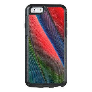 Blue-headed Pionus feathers OtterBox iPhone 6/6s Case