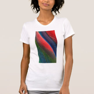 Blue-headed Pionus feathers T-Shirt