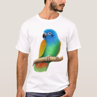 Blue Headed Pionus Parrot T-Shirt