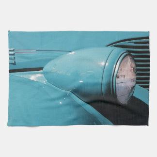 Blue Headlight Kitchen Towel