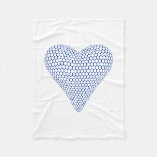 Blue Heart Blanket