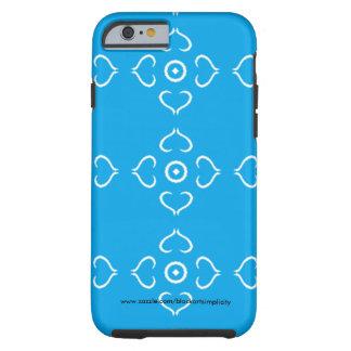 Blue Heart Phone Case