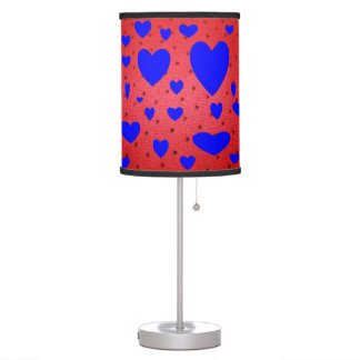 Blue Heart VALENTINE  LAMP