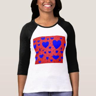Blue Heart's Ladies Long Sleeve Shirt