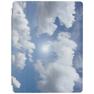 Blue Heaven Clouds + your ideas iPad Cover