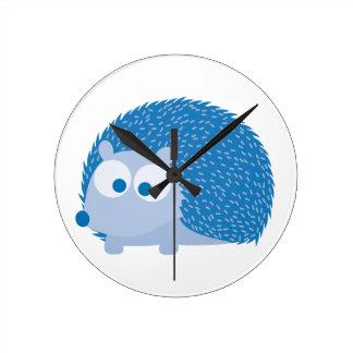 Blue Hedgehog Clocks