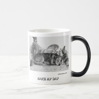"Blue Heeler mug series ""Make My Day"""