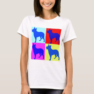 Blue Heelers Color Wall T-Shirt