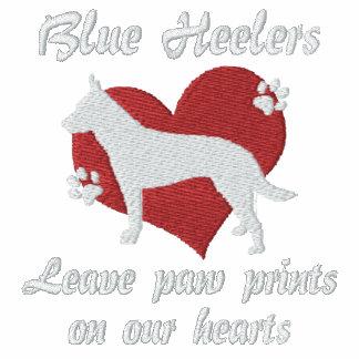 Blue Heelers Leave Paw Prints