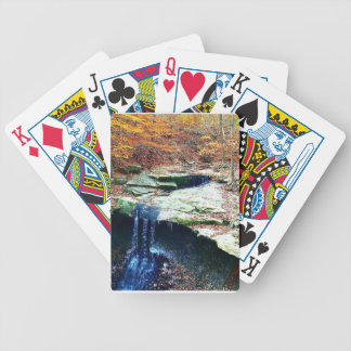 Blue Hen Falls Cuyahoga National Park Ohio Bicycle Playing Cards