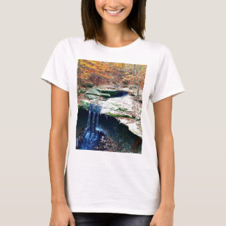 Blue Hen Falls Cuyahoga National Park Ohio T-Shirt