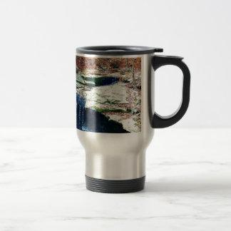 Blue Hen Falls Cuyahoga National Park Ohio Travel Mug