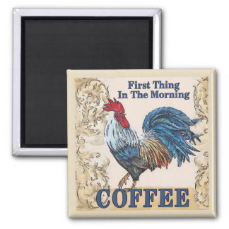 Blue Hens, Morning Coffee Magnet