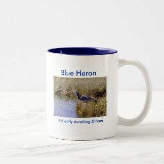 Blue Heron At The Tidal Pool Mug