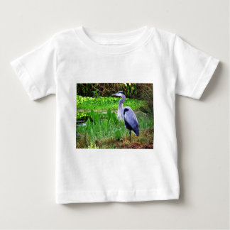 Blue Heron Baby T-Shirt