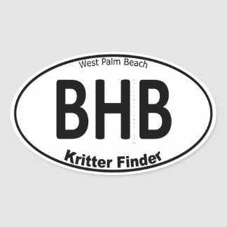 Blue Heron Bridge - Kritter Finder - Sticker