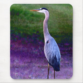 Blue Heron Collection Mouse Pad