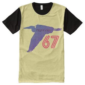 Blue Heron Flight No.67 All-Over-Print T-Shirt