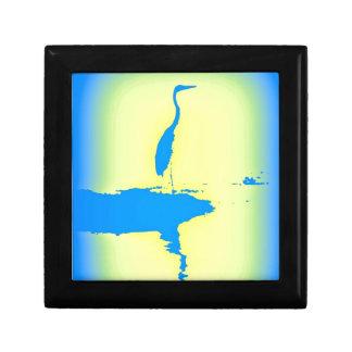 blue heron gift box