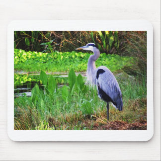 Blue Heron Mouse Pad