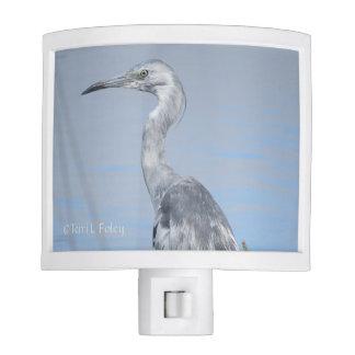 Blue Heron Night Light