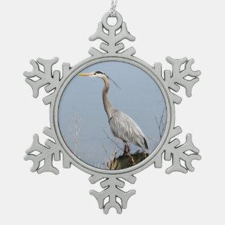 Blue Heron Ornaments