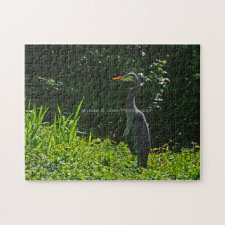 Blue Heron Jigsaw Puzzles