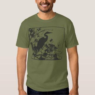 Blue heron shirts