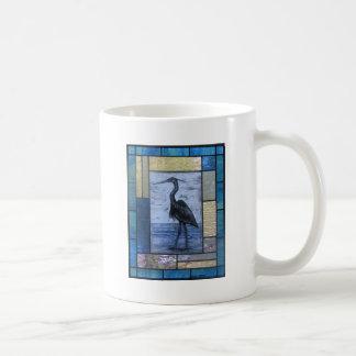 Blue Heron with Blues Coffee Mug