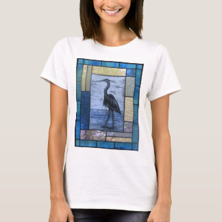 Blue Heron with Blues T-Shirt