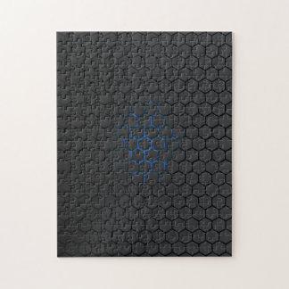 Blue Hex jigsaw Jigsaw Puzzle