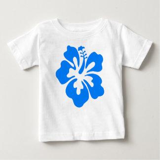 Blue Hibiscus Flower Baby T-Shirt