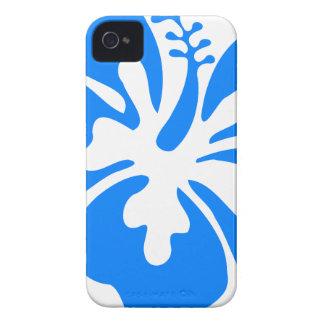 Blue Hibiscus Flower iPhone 4 Case