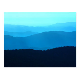 Blue Hills - Great Smoky Mountains Postcard