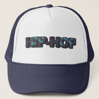 Blue Hip-Hop Hat