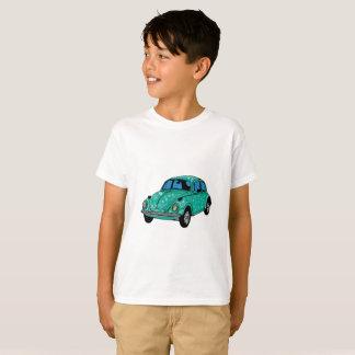 Blue Hippie Car Hanes TAGLESS T-Shirt