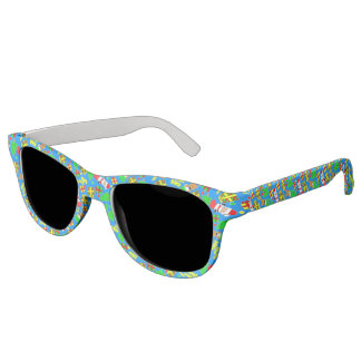 Blue - Ho Ho Santa Sunglasses
