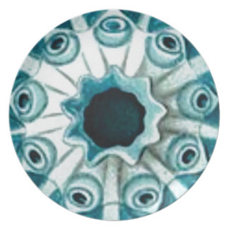 blue hole and eyes plate
