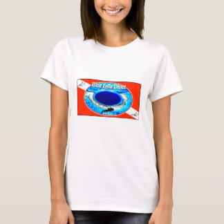Blue Hole Diver Basic T-Shirt