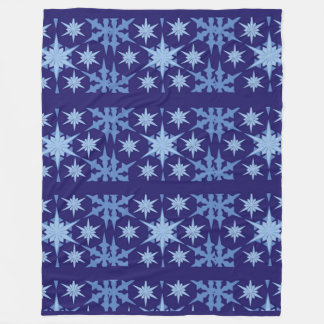 Blue Holiday Blanket