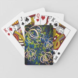 Blue Honu Playing Cards