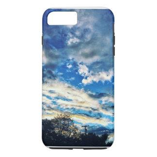 -BLUE HORIZON- iPhone 7 PLUS CASE