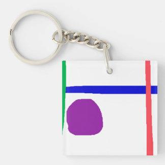 Blue Horizon Keychain